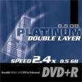 DVD+R DL Platinum Double Layer Rohling 8,5 GB 8x JC