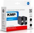 Tinte Canon PGI-2500XL Black Doppelpackkomp. KMP