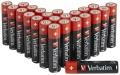 Batterie AA/R6/LR6 Mignon Alkalisch Verbatim 24er Pack (**