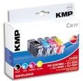 Tinte Canon PGI-525 + 3x CLI526 color kompatibel KMP C81V