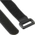 Klett Kabelbinder schwarz 10er Pack