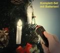 LED Lichterkette 10 Kerzen mit Funk-Fernbedienung Set