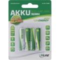 Akku R3 AAA 4er Pack  900 mAh Inline vorgeladen Blister (**