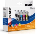 Tinte Brother LC-1240 XXL Multi-Pack kompatibel KMP B37V