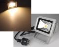 LED Scheinwerfer 10 Watt 1000 Lumen 3000 K, warmweiss