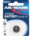 Batterie Lithium 3V  Cr1620 (**