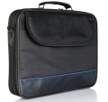 Tasche für 39 cm (15) Notebooks Innovation IT Schwarz/Blau
