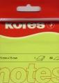Haftnotiz 75x75 mm 100 Blatt neon-grün KORES N47077