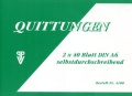 Quittungen A6 2*40 Blatt SD PENIG 4100