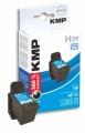Tinte HP C9351AE No. 21 kompatibel KMP H29