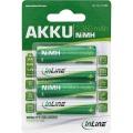Akku R6 AA 4er Pack 2350mAh Inline vorgeladen Blister (**