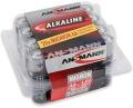 Batterie Ansmann R6 Alkalie Mignon AA 20er Pack (**