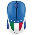 Maus Logitech Wireless Mouse M238 Blau Italian