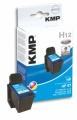 Tinte HP C6657AE No. 57 kompatibel KMP H12