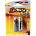 Batterie AA/R6/Mignon Ansmann Alkalie 2er Pack X-Power (**