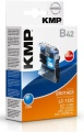Tinte Brother LC-123C cyan kompatibel KMP