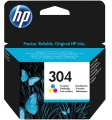 Tinte HP N9K05AE No. 304 Color