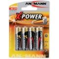Batterie AA/R6/Mignon Ansmann Alkalie 4er Pack X-Power (**