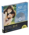 MILLENNIATA BD-R M-DISC 3er Pack SlimCase 25 GB