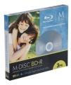 MILLENNIATA BD-R M-DISC 3er Pack SlimCase 25 GB