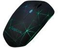 Maus LogiLink optische 3D Bluetooth Maus beleuchtet schwarz