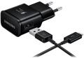 Ladegerät USB-Netzteil Samsung (Schnellladegerät) Schwarz