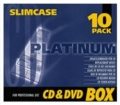 CD-Hüllen Slim-Case transparent 10er Pack Mediarange BOX32