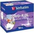 DVD+R DL Verbatim Double Layer Rohling 8,5 GB 8x printable