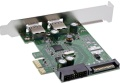 PCIe USB 3.0 Schnittstellen 4-fach (2+2) (USB 3.1 Gen.1)