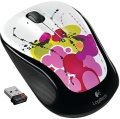 Maus Logitech Cordless Mouse M325 White Ink Trail optisch