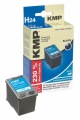 Tinte HP C8765E No. 338 schwarz kompatibel KMP H24