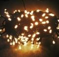 LED Lichterkette 200er warmweiss 15m für Innen und Außen