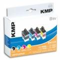 Tinte Brother LC900 Vorteilspack kompatibel KMP B5V
