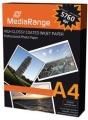 Tintenpapier Mediarange A4 glossy 220 g/m² Fotopapier