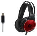 Headset Conceptronic ATHAN01B Gaming Headset 7.1 USB