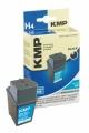 Tinte HP 51629 schwarz kompatibel KMP-Refill H4