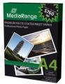Tintenpapier Mediarange A4 matt 130 g/m²