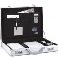 Notebook-Koffer für bis zu 48,3 cm (19) Geräte Silber