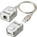 USB-Extender via LAN USB 1.1 Sender & Empfänger