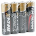 Batterie AA/R6/Mignon Ansmann Alkalie 4er I-Pack X-Power (**