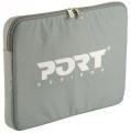 Tasche für 39,1 cm Notebooks PORT DESIGNS Nylon grau