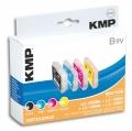 Tinte Brother LC1000 Vorteilspack kompatibel KMP B9V