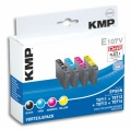 Tinte Vorteilspack Epson Stylus D78 kompatibel KMP E107V
