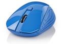 Maus Nedis schnurlos Blau für Rechts- und Linkshänder
