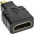 HDMI-Adapter 1xHDMI-A-Buchse an 1x HDMI-D-Stecker